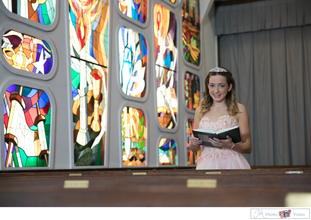 Oceanside Jewish Center Bat Mitzvah portrait