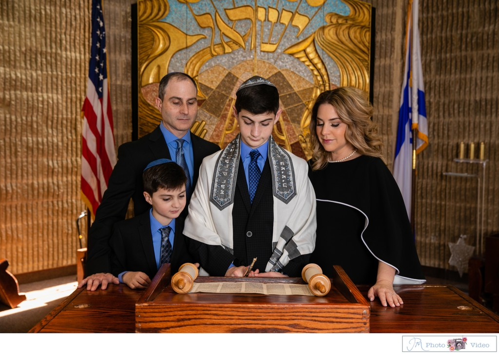 Temple Beth Torah Bar Mitzvah Photographer