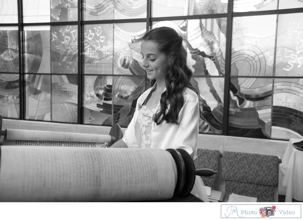 Temple Or Elohim Bat Mitzvah portrait photographer