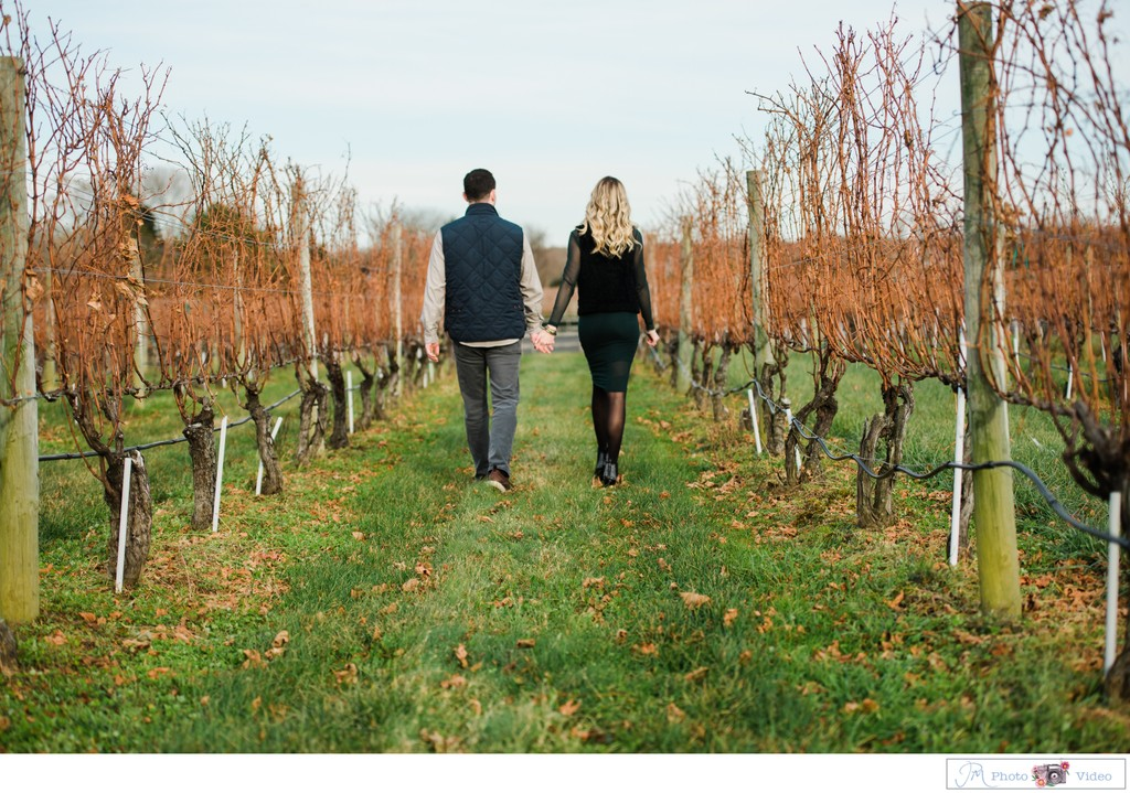 Long Island Vineyard Proposal Photographer