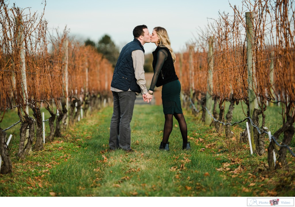 Long Island's Wine Country Proposal Photographer