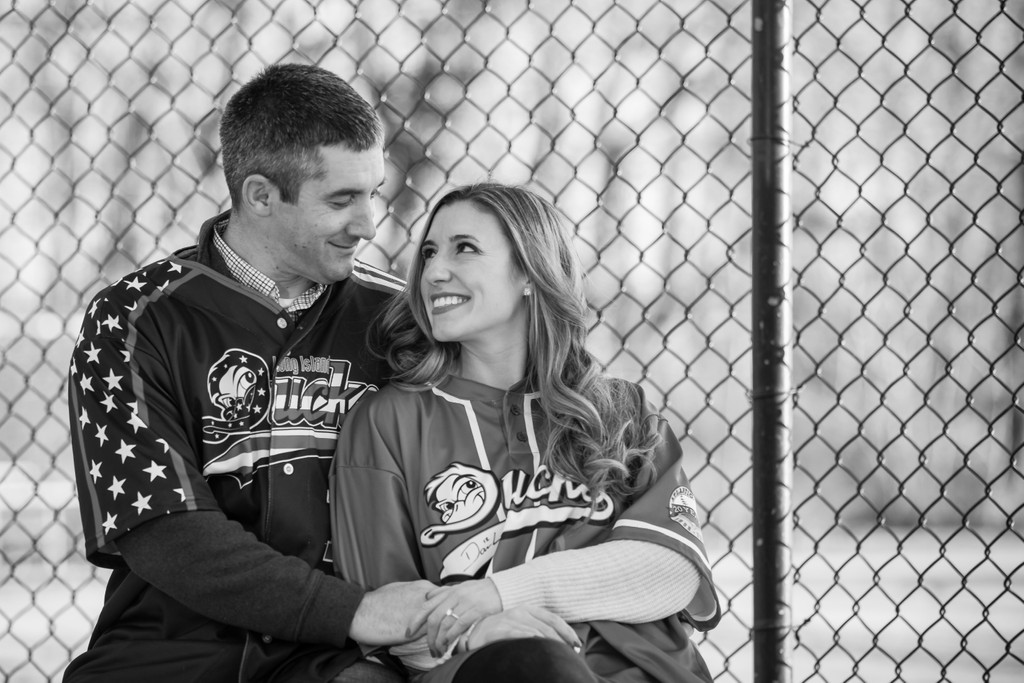 Long Island Ducks engagement photo