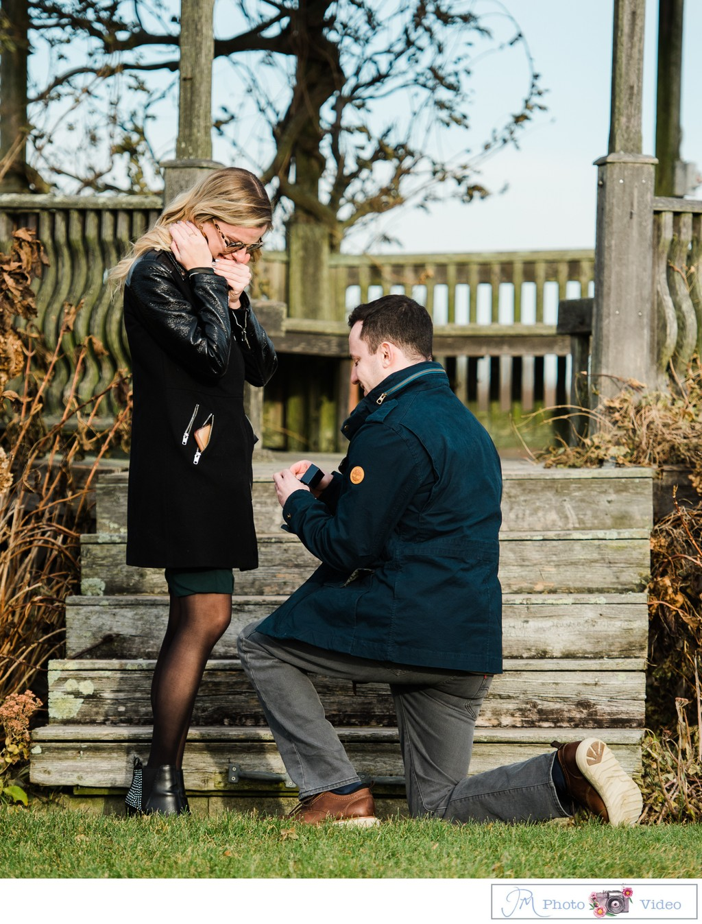 North Fork Marriage Proposal Photographer