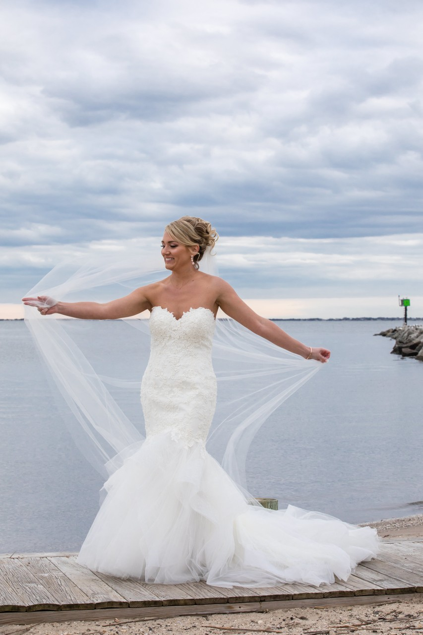 Lands End Sayville NY bridal photographer