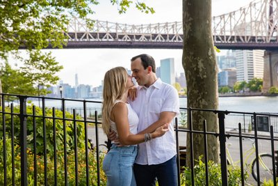 Long Island City Engagement Photographer