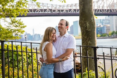 Gantry Plaza State Park Engagement Photographer