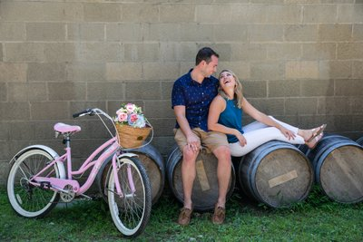 Long Island Vineyards Engagement Photos