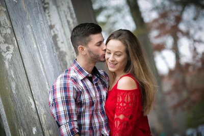 Fall Engagement Pictures on Long Island