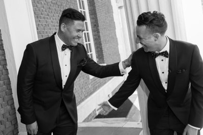 Bourne Mansion - Lessing's Gay Wedding Photographer