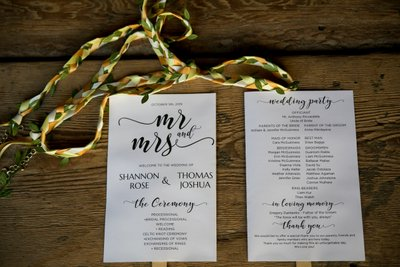 Wedding Invitations to a Barn Wedding - Long Island