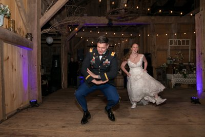 Barn Wedding Reception Photos