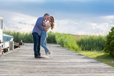Great South Bay Engagement Session