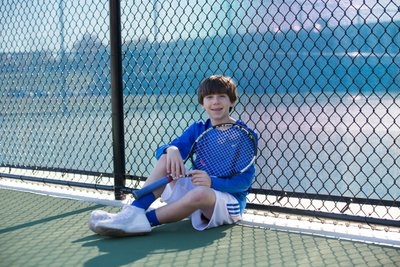 Bar and Bat Mitzvah sport themed photo shoot