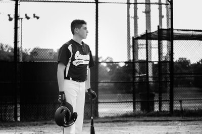 Baseball Portrait Photography - Long ISland