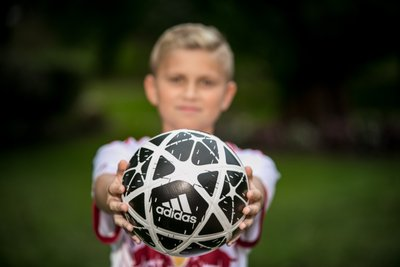 Long Island Soccer themed Bar Mitzvah Portrait Session