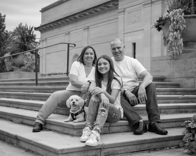 Long Island pet friendly Family Photography