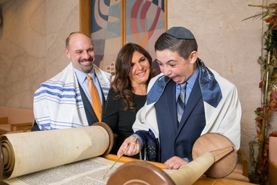 Temple Beth David Bar Mitzvah Photography