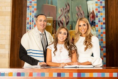 Temple Avodah Bat Mitzvah Portrait Photographer