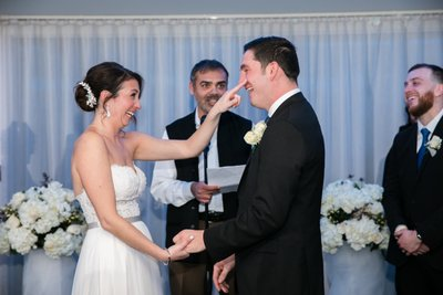 Funny Wedding Ceremony Pics - Harbor Club at Prime