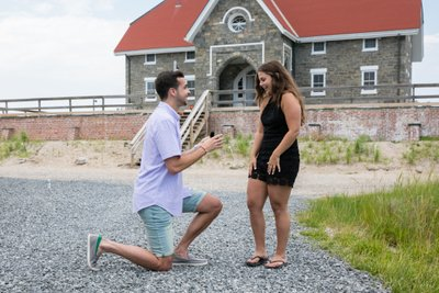 Long Island Proposal Photographer - LI Beach Proposal