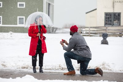 Surprise Marriage Proposal Photographer