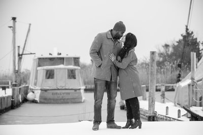 Sayville Marina Engagement Session