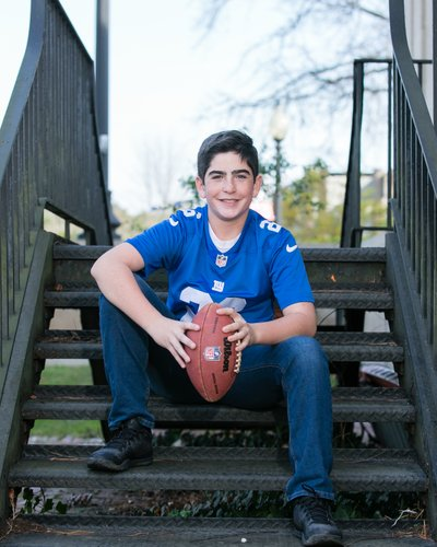 Long Island Football and sport Mitzvah photography