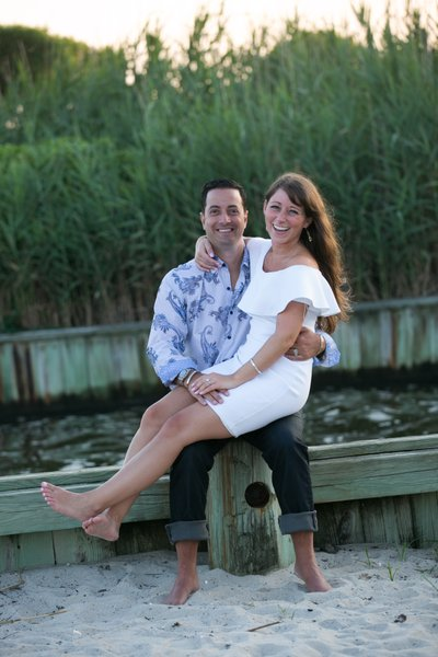 South Shore/South Fork Engagement Photographer