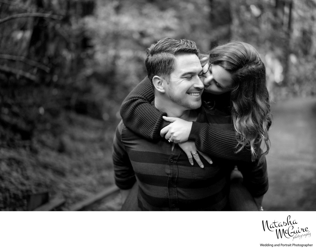 candid engagement outdoor