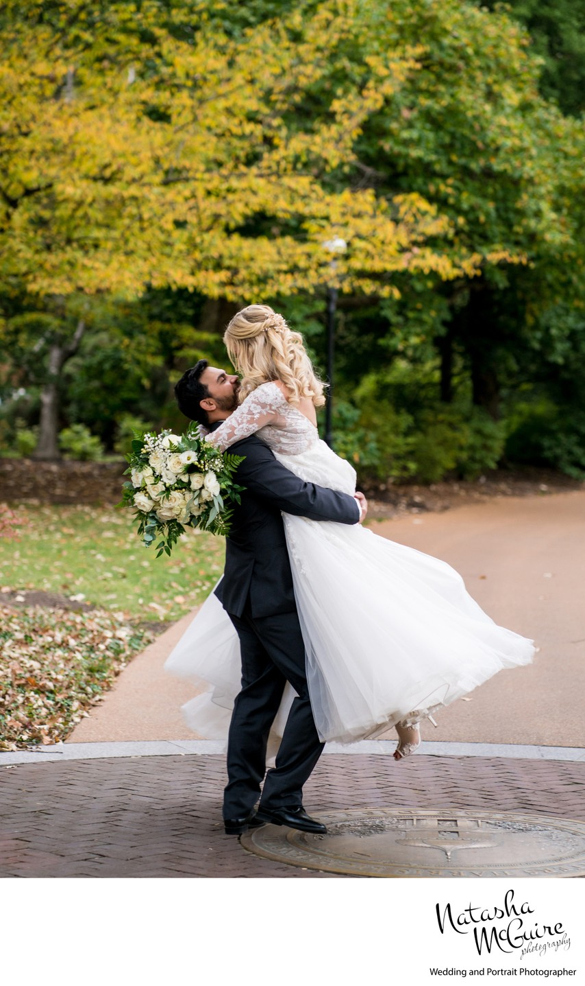 Missouri Botanical Garden Wedding