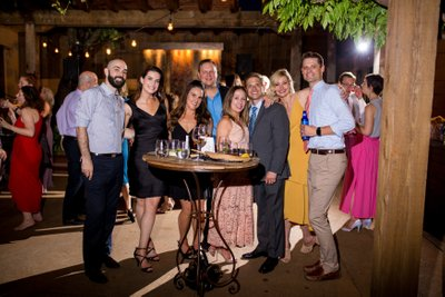 Wedding Guests at Oliva on the Hill