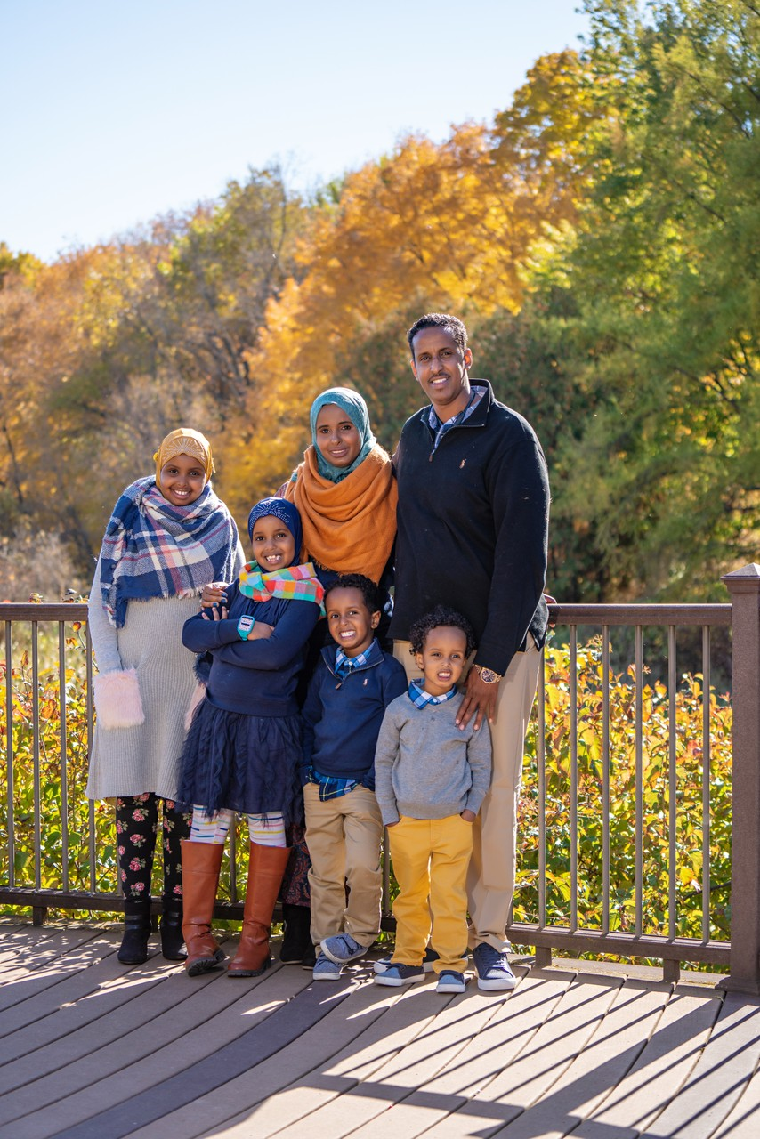 Family Photos with Fall Colors