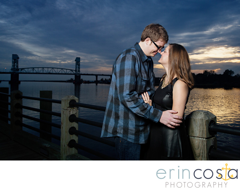 Downtown Wilmington Engagement Photos