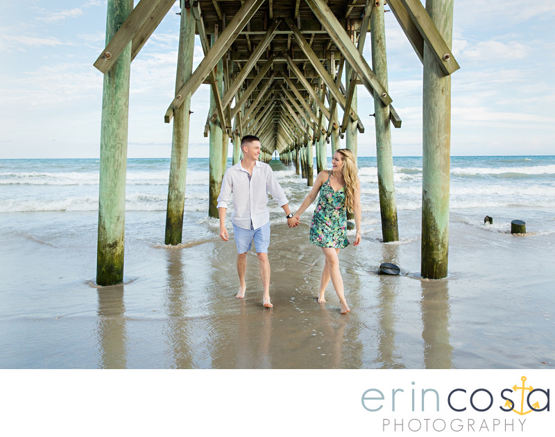 Topsail Beach Engagement Pictures