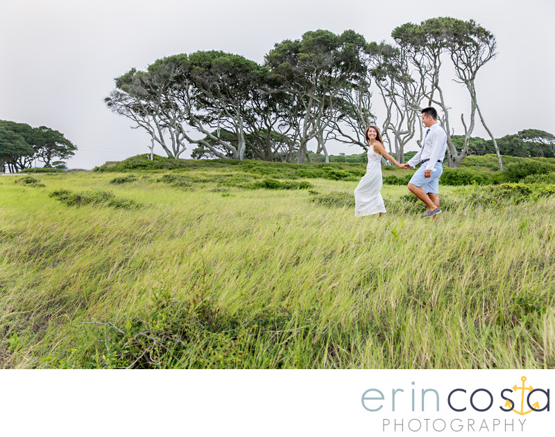 Fort Fisher Engagement Pictures 1