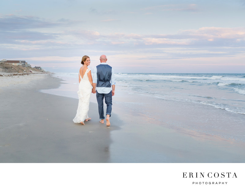 topsail island wedding photos