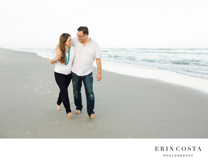 Engagement Photos Topsail Beach