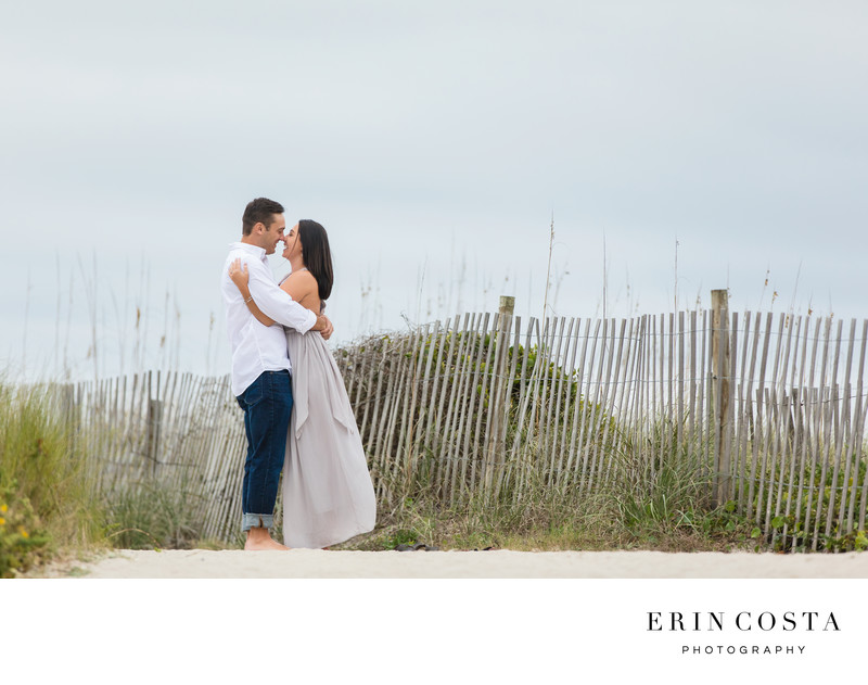 Winter Engagement Session Wrightsville Beach