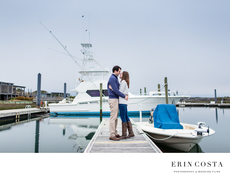 Figure Eight Island Engagement Photos