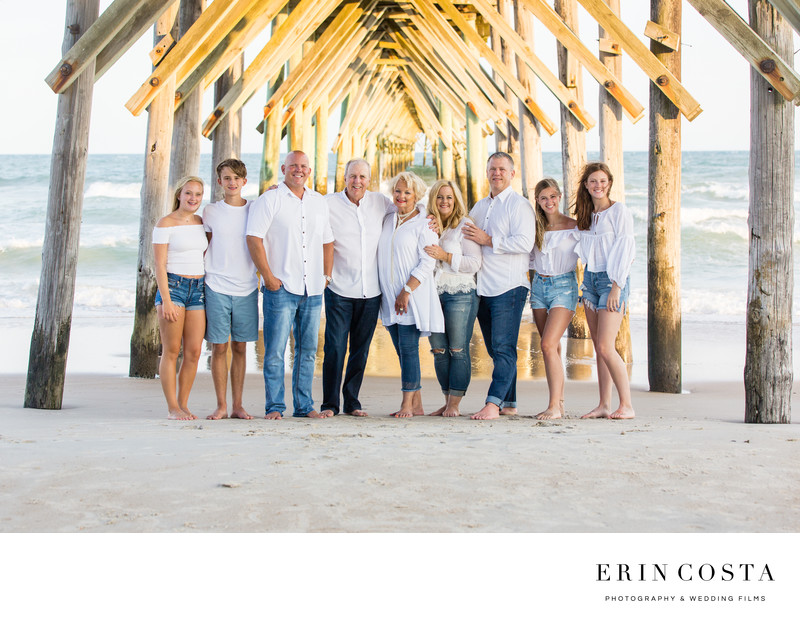 Surf City Pier Family Portraits