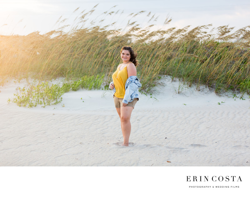 Topsail Island Senior Photos