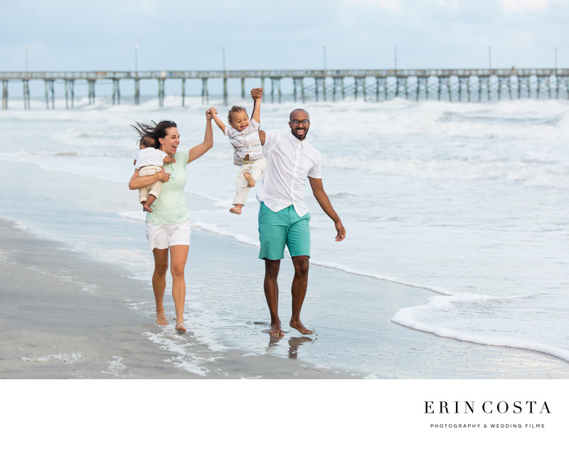 Family Portraits Topsail Pier