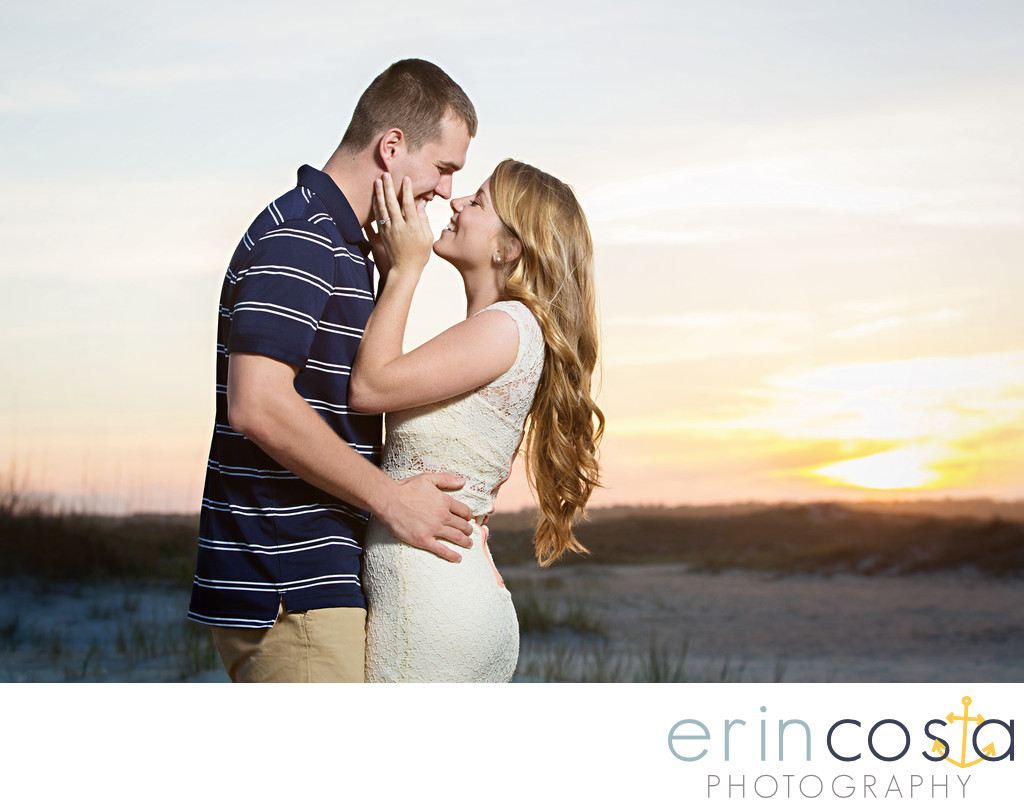 wrightsville beach engagement photos 1