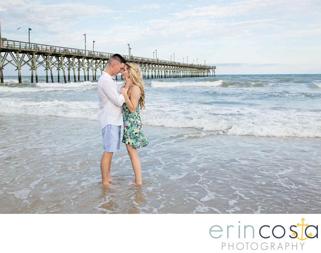 Topsail Beach Engagement Pictures 2