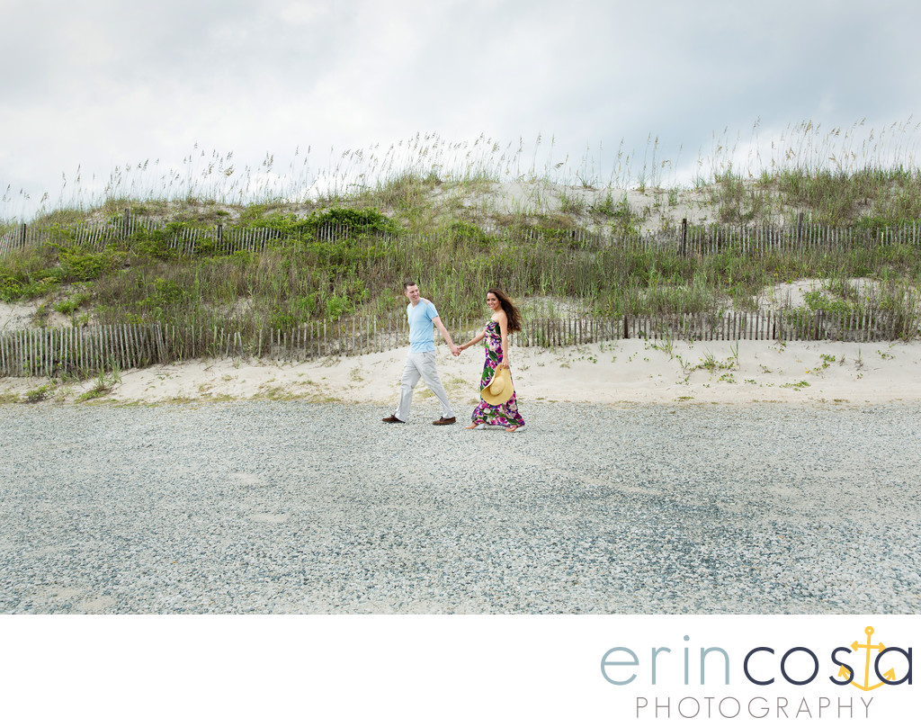 Topsail Beach Engagement Photographer 1