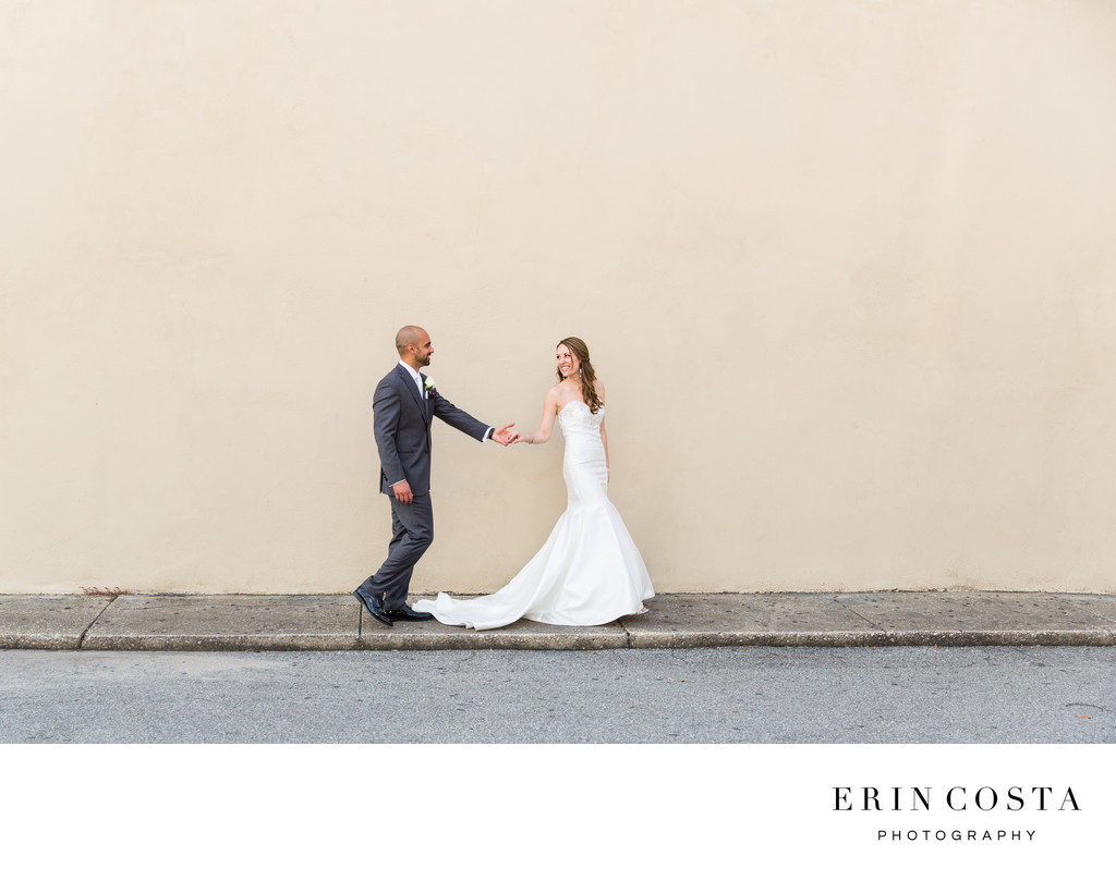 Fun Downtown Wilmington Wedding Photos