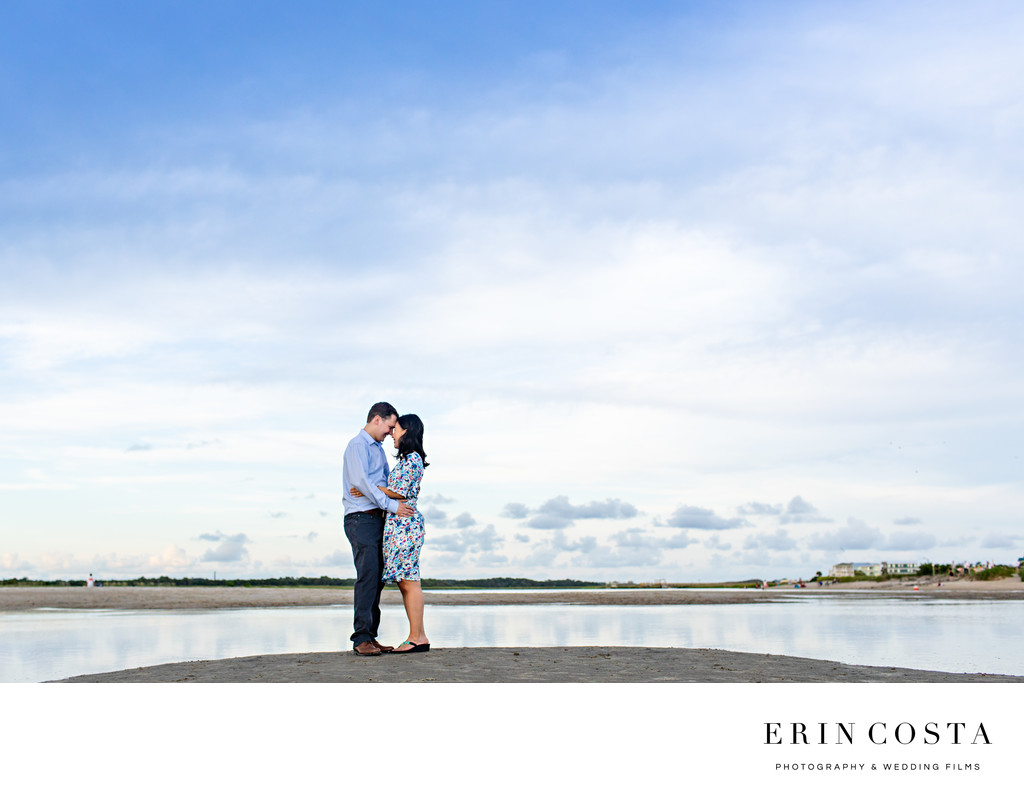 Oak Island Engagement Photos