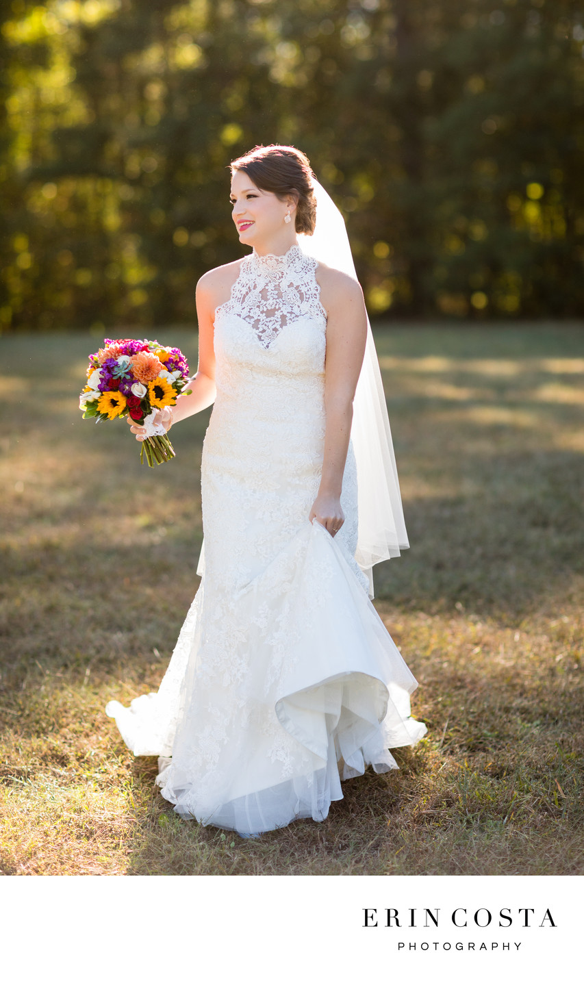 Oaks at Salem Bridal Portraits