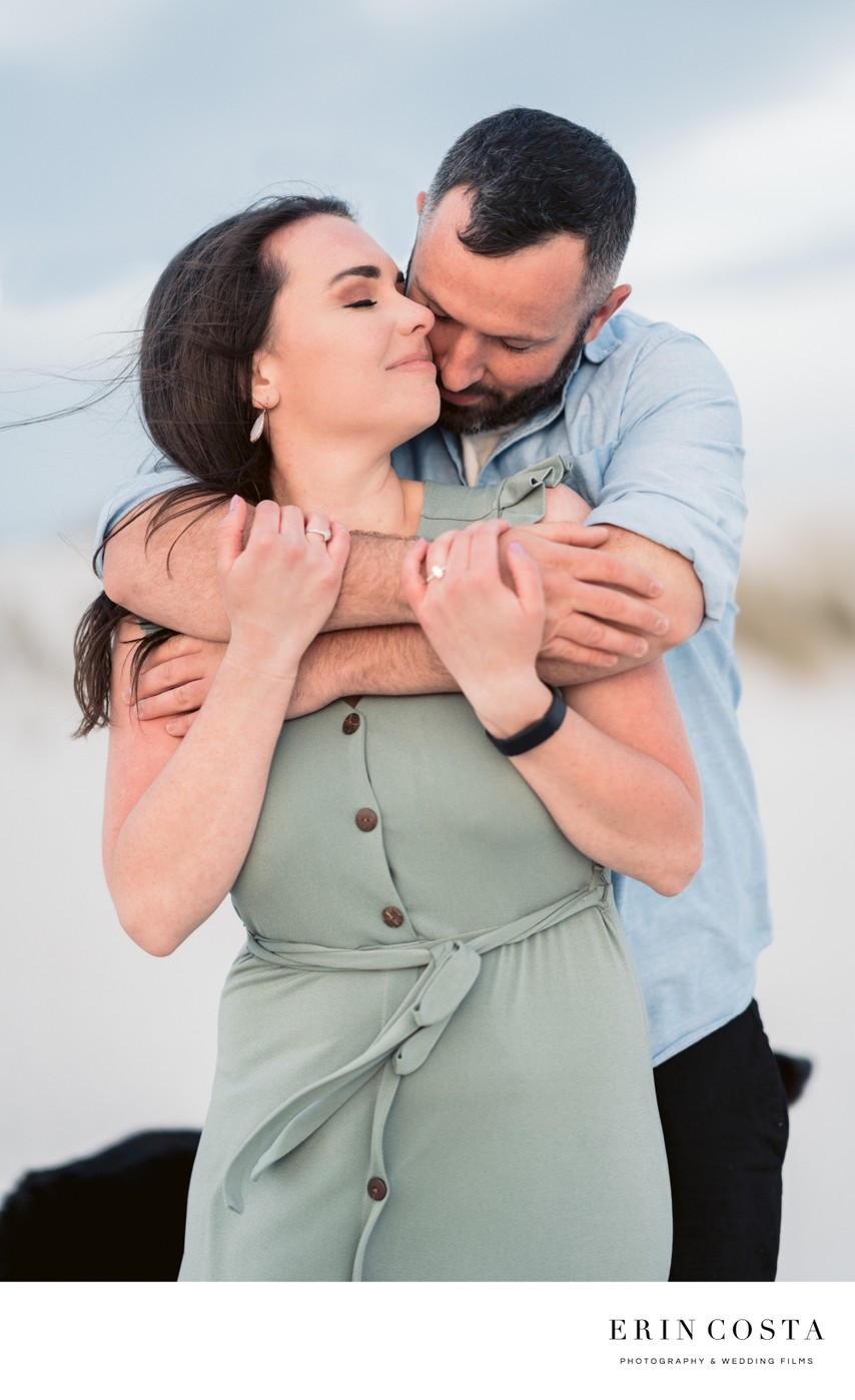 Serenity Point Topsail Beach Engagement Pics