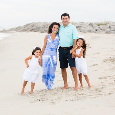 Fort Fisher beach family photographers